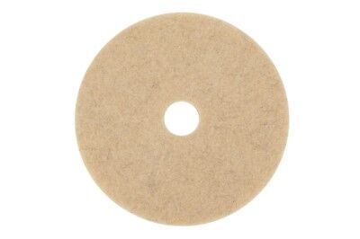 "17"" Tan Buffing Pads Unisource  5 Pack"