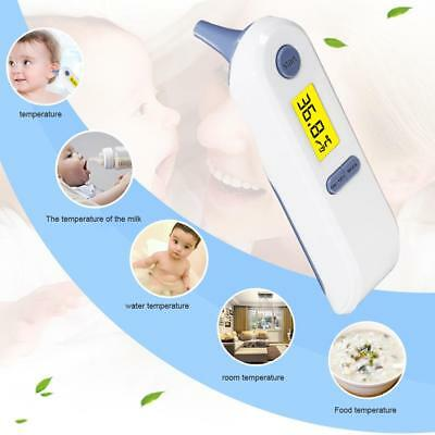 Digital Non-contact IR Infrared Thermometer Ear Forehead Body Temperature
