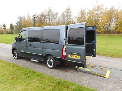 2012 Renault Master 2.3 Dci Automatic 6 Seats WHEELCHAIR ACCESSIBLE VEHICLE WAV