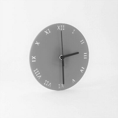 Small Round Wall Clock, Roman Numerals, Living Room, Dining, Kitchen, Office