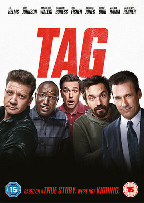 Tag DVD (2018) Ed Helms ***NEW***