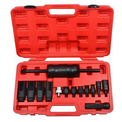 14 Pcs Injection Puller Extractor Kit Tool For Bosch Delphi Deso Siemens