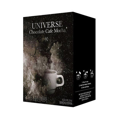SM TOWN EXO 2017 Winter Album [UNIVERSE] Official Chocolate Cafe Mocha