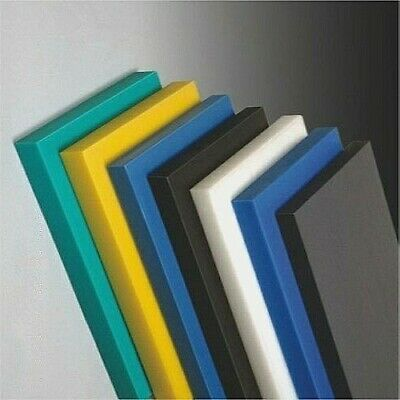 Plastic Sheet Block OFF CUT / Samples | Acetal Acrylic Nylon 66 Polyethylene PVC