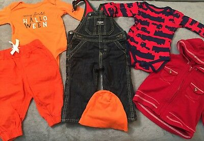 Very Cute Lot of 6 Boy Clothes 6-9 Month