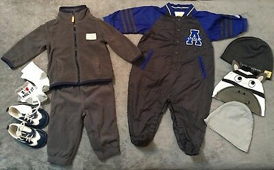 Lot of 9 pcs Boys Clothes ADIDAS CARTERS 6 Month