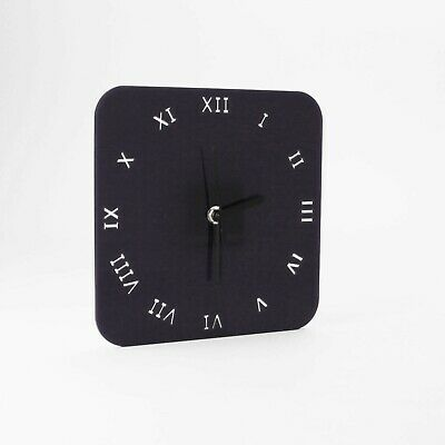 Large Square Wall Clock, Roman Numerals, Living Room, Dining, Kitchen, Office