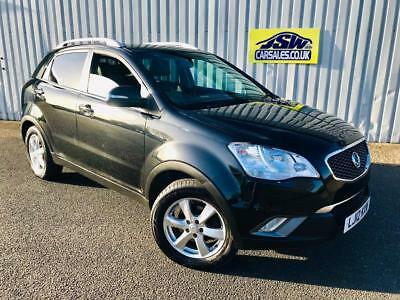 2012 Ssangyong Korando 2.0TD 4X4 EX - FULL LEATHER. 6 SPEED. 2 OWNERS.