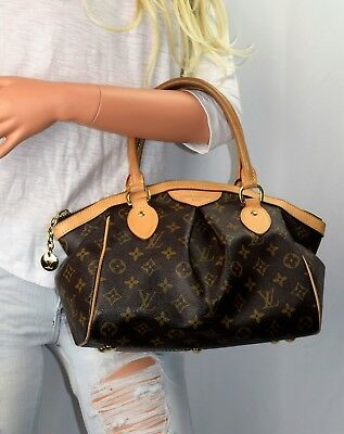LOUIS VUITTON TIVOLI PM Brown Monogram Leather Tote -  900.00  346f6aaafadf9