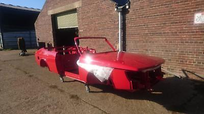 1993 Saab 900 Classic convertible body shell Acid dipped, E-coated, Painted