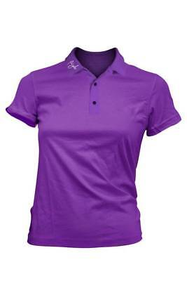 Fayde Red T ladies Polo lilac