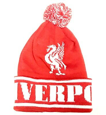 Liverpool Bobble Hat Football Bobble Pom Hat
