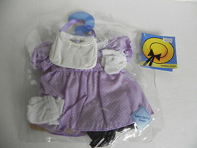 NWT Madeline Dress purse shoes socks gloves Outfit for a 15 inch Doll polka dot