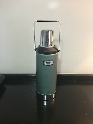 Vintage Aladdin's Stanley Vacuum Flask Thermos Large With Handle