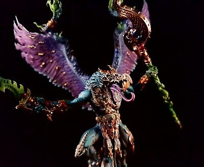 Warhammer 40 000 Age of Sigmar Lord of Change Chaos Demon pro painted commission