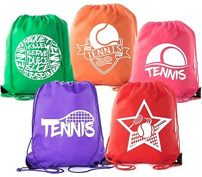 Mato & Hash Tennis Backpacks| Drawstring bags for Camp, Parties, and Fundraisers