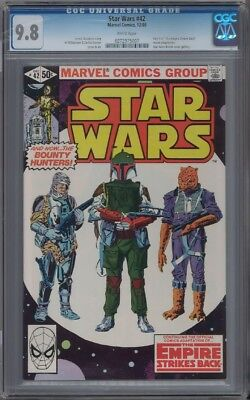 Star Wars #42 CGC 9.8 1st Boba Fett White Pages