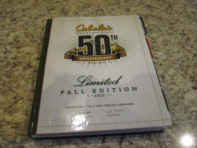 Cabela's catalog Limited Fall Edition 2011 50th Anniversary Edition