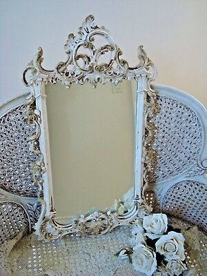 Gorgeous Vintage Shabby French Ornate Large Mirror Elegant ****awesome****