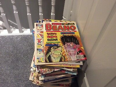 Joblot of Beano and Dandy Comics From 1984 To Now!! Probably Over 200!! Cheap!!