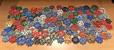 Lot ~ 120 Vintage Valve Handles ~ Water Faucet Knobs ~ STEAMPUNK ~ FREE SHIPPING