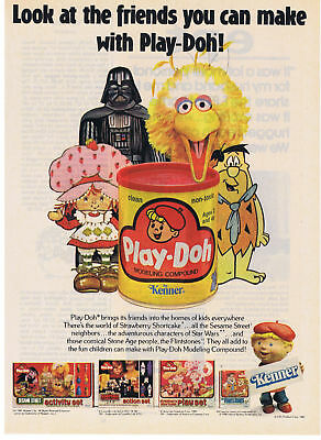 1981 Kenner Play-doh Star Wars Strawberry Shortcake Flintstones & more Print Ad