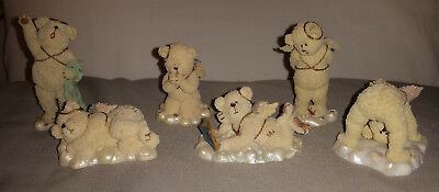 6 Boyds Collection - Lil' Wings Bear - 1St & 2Nd Editions