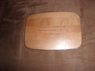 Longaberger Collector's Club 10th Anniversary Little Market WoodCrafts lid