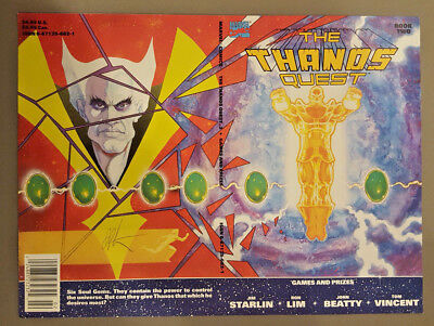 The Thanos Quest Book Two (#2) - Cover Only - Signed by Jim Starlin