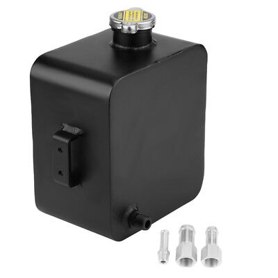 Universal 2.5L Aluminum Water Coolant Radiator Overflow Recovery Tank Expansion