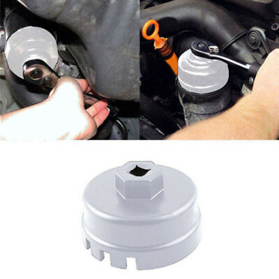 64mm Oil Filter Cap Wrench Socket Remover Tool Set For Toyota Lexus Universal