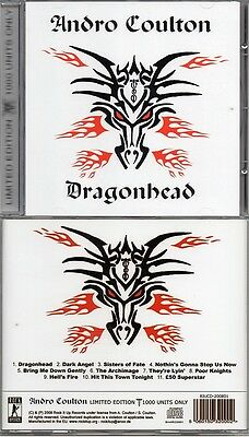 ANDRO COULTON - Dragonhead LTD ED TOP Witchfynde Saint Vitus DOOM meets NWOBHM