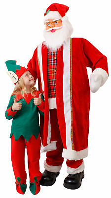 Faulty 6Ft Dancing Santa Life Size Animated Father Christmas Decoration Xmas