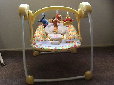Winnie The Pooh Musical Rocker For Baby