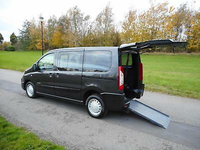 2009 Citroen Dispatch 1.6 Hdi 6 Seats WHEELCHAIR ACCESSIBLE ADAPTED VEHICLE WAV