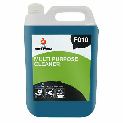 Selden F010 Multi Purpose Cleaner - 5 Litres - Scrubber Dryer Solution 5 Litres