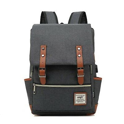 LENOHO Laptop Backpack Women Men, Vintage Slim College School Backpack US... New