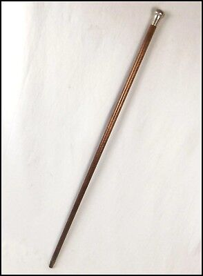 Silver Capped 1928 Walking Cane