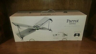 New Parrot Swing Quadcopter Camera Drone with Plane Mode + Flypad Controller NIB