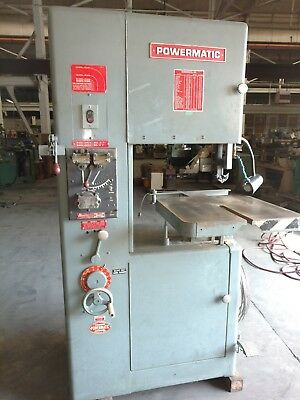 "20"" Powermatic Vertical Band Saw, Model 87"