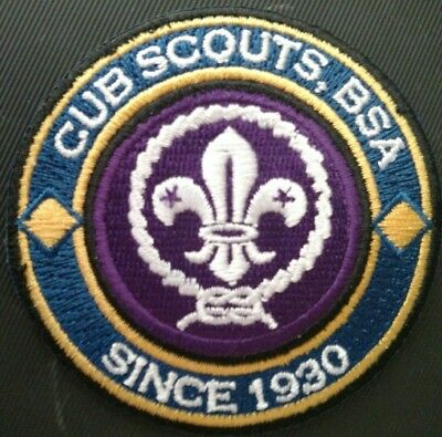 Cubs Scouts, BSA Since 1930 RING & World Crest - Private Issue Non BSA CS