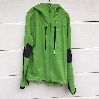 d5e19dd6dd3 MEN S RAB TORQUE Soft shell Jacket Large Acid green - £40.00 ...