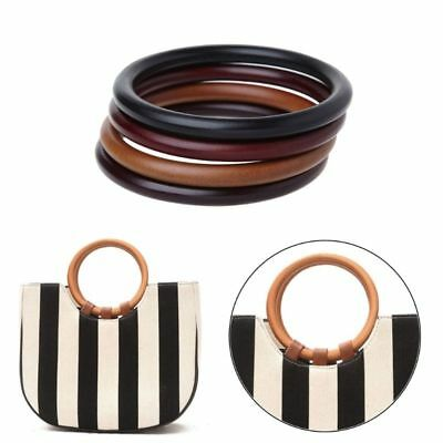 Wooden Handle for Replacement Handmade Tote Purse Frame Making Bag Hangers