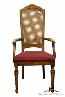 STANLEY FURNITURE Italian Provincial Cane Back Dining Arm Chair 8311-70