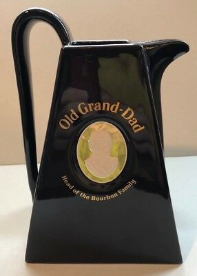 OLD GRAND DAD Pitcher - Liquor Bar Water Pitcher - Head of the Bourbon Family