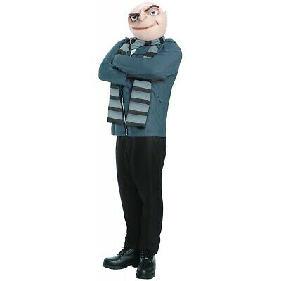 Gru Costume Adult Despicable Me Halloween Fancy Dress