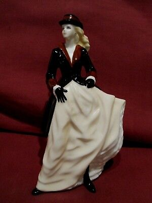 Beautiful Retired Ltd Edt Royal Worcester Figurine Zara From Les Petites Series