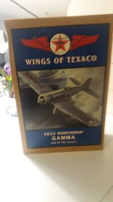 New Ertl Wings of Texaco 1932 Northrop Gamma Die Cast Bank 2nd In Series