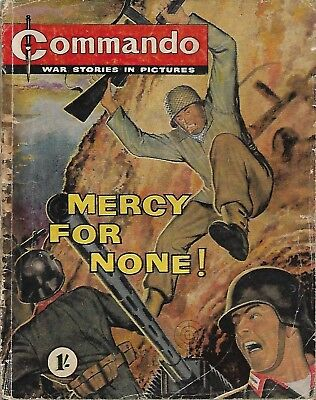 Commando War Stories In Pictures 4 Mercy For None