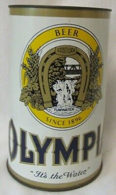 Large Olympia Beer Vinatge Coin Bank Can